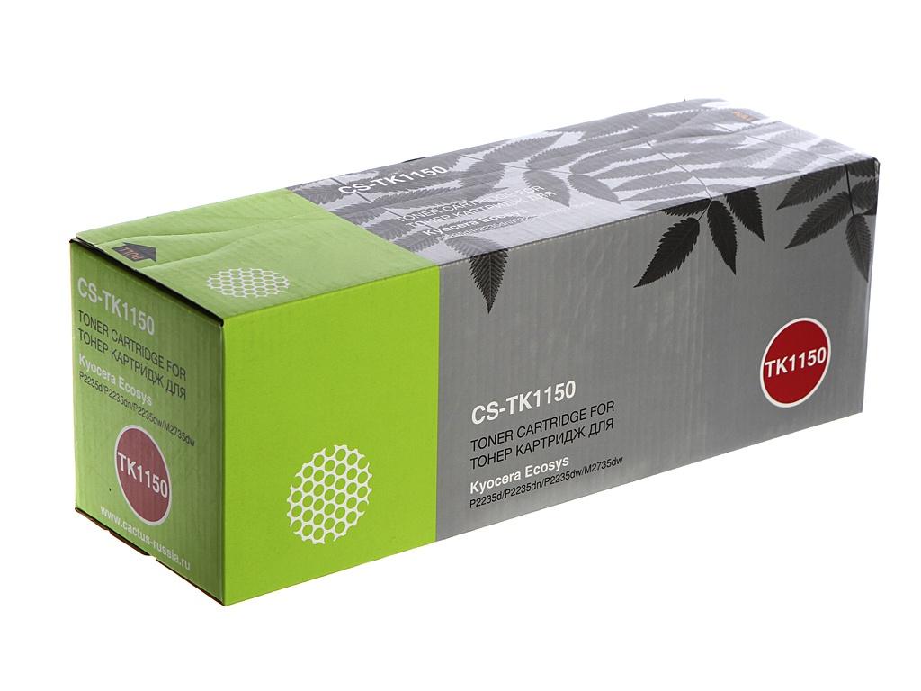 Картридж Cactus CS-TK1150 Black для Kyocera Ecosys P2235d/P2235dn/P2235dw/M2735dw цена 2017