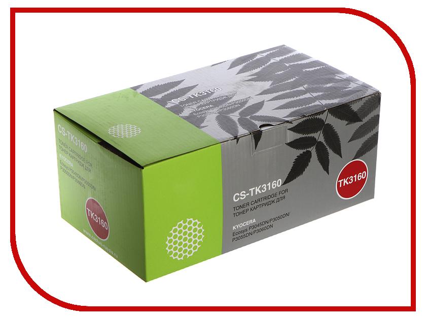 Картридж Cactus CS-TK3160 Black для Kyocera Ecosys P3045dn/P3050dn/P3055dn/P3060dn