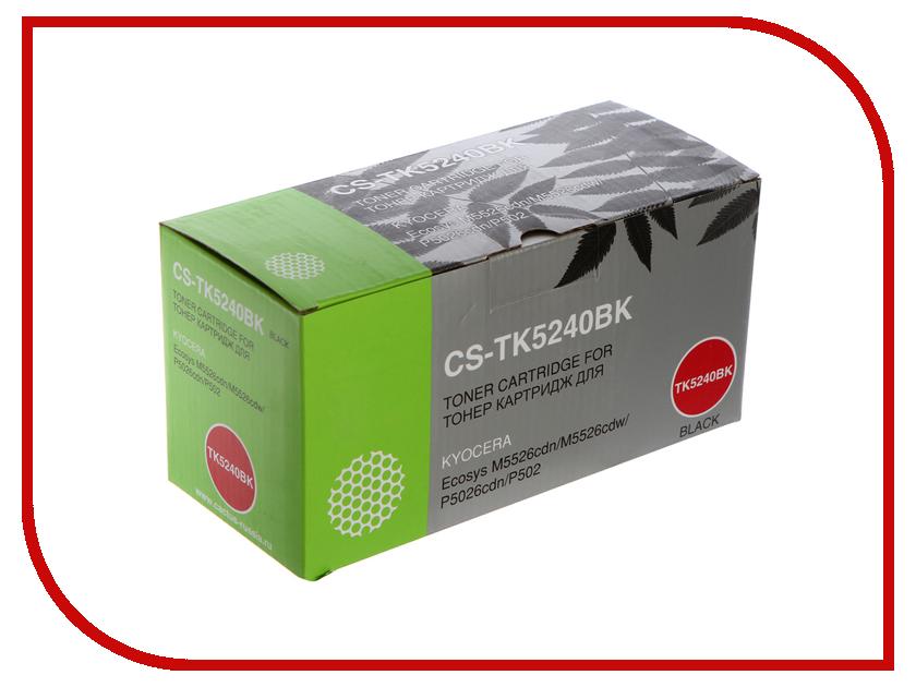Картридж Cactus CS-TK5240BK Black для Kyocera Ecosys M5526cdn/M5526cdw/P5026cdn/P5026cdw худи print bar cs go asiimov black