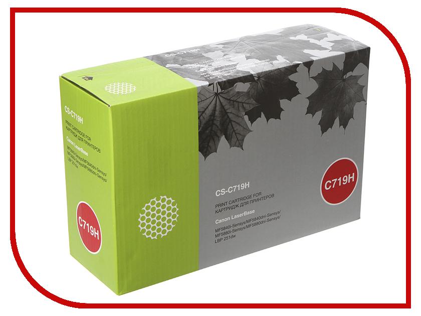 Картридж Cactus CS-C719H Black для Canon MF5840dni-Sensys/MF5880dni/LBP6300i/6650i картридж cactus cs c719h black тонер картридж