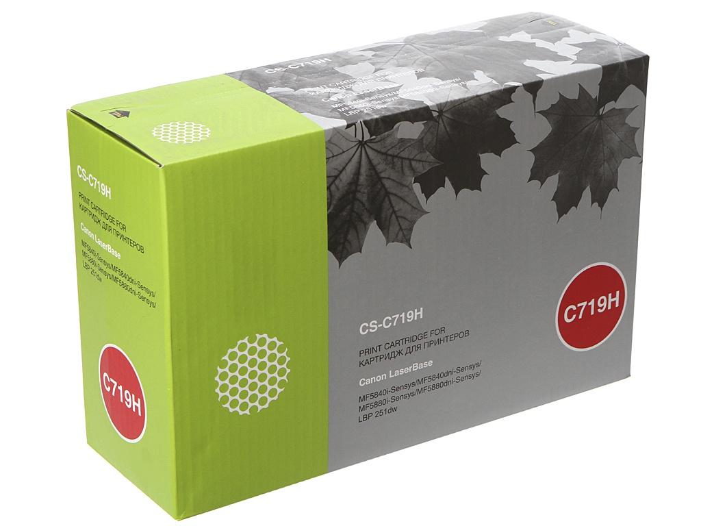 Картридж Cactus CS-C719H Black для Canon MF5840dni-Sensys/MF5880dni/LBP6300i/6650i