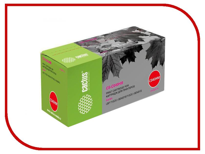 Картридж Cactus CS-C040HM Magenta для Canon LBP 710CX/712CX I-Sensys принтер canon i sensys colour lbp653cdw лазерный цвет белый [1476c006]