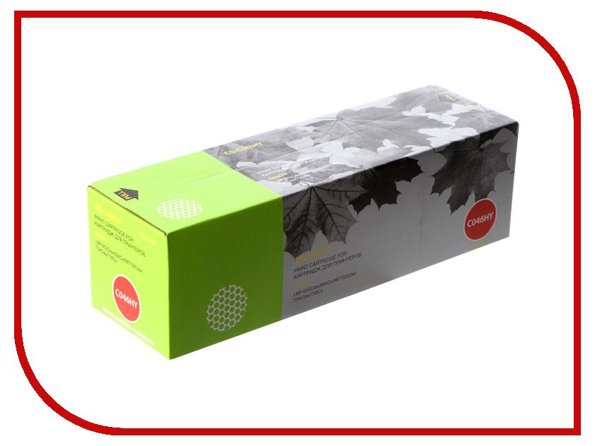 купить Картридж Cactus CS-C046HY Yellow для Canon LBP 653Cdw/654Cx/MF732Cdw/734Cdw/735Cx по цене 2069 рублей