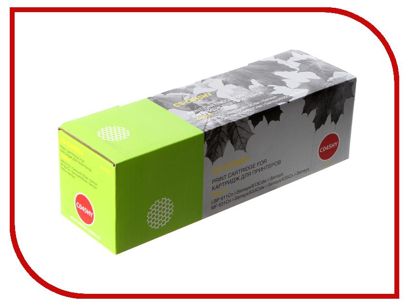Картридж Cactus CS-C045HY Yellow для Canon LBP 611Cn/613Cdw/631Cn/633Cdw/635Cx