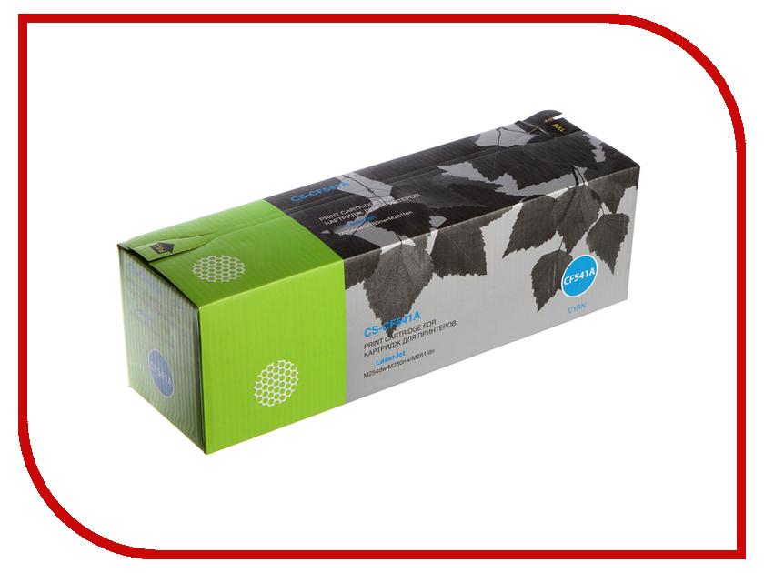 Картридж Cactus CS-CF541A Cyan для HP LJ M254dw/M280nw/M281fdn cactus cs q6511x black тонер картридж для hp lj 2410 2420 2420dn 2430