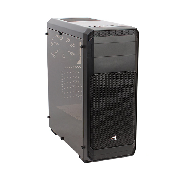 Корпус AeroCool Aero-300 Window Black FAW Edition