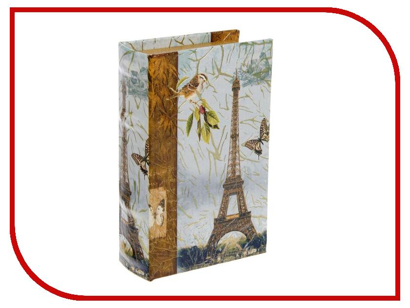 Шкатулка СИМА-ЛЕНД Париж, золотой дождь 17x11x5cm 1522133