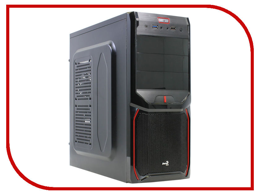 Корпус AeroCool V3X Advance Devil Red Edition Black sound advance ct12fht