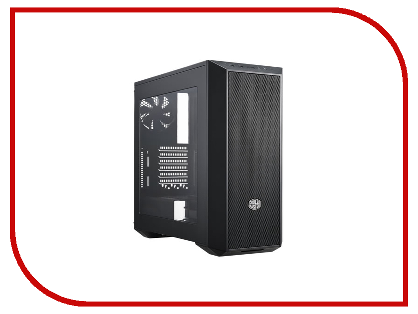 Корпус Cooler Master MasterBox 5 (MCX-B5S1-KWNN-11) w/o PSU Black cooler master masterbox q300p usb3 0x2 2x120 rgb fan 1x120fan black atx w o psu