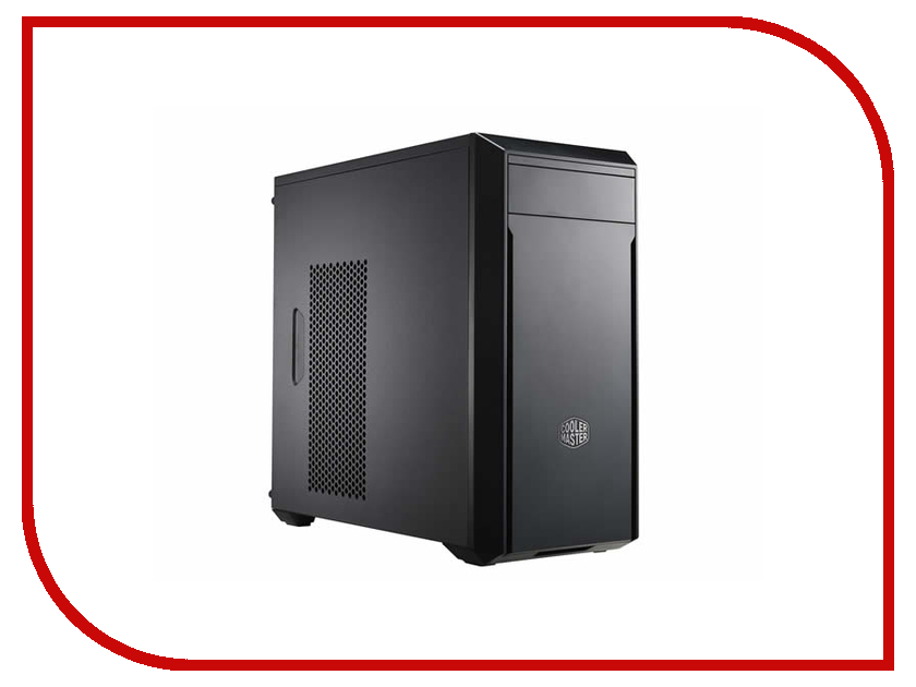 Корпус Cooler Master MasterBox 3 Lite w/o PSU Black MCW-L3S2-KN5N корпус miditower atx w o psu mcb e500lka5ns01 cooler master