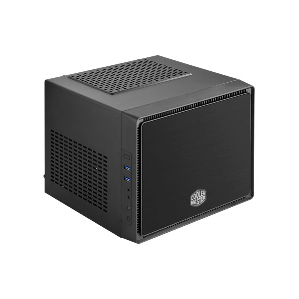 Корпус Cooler Master Elite 110A (RC-110A-KKN1) Black корпус mini itx cooler master elite 110a без бп чёрный rc 110a kkn1