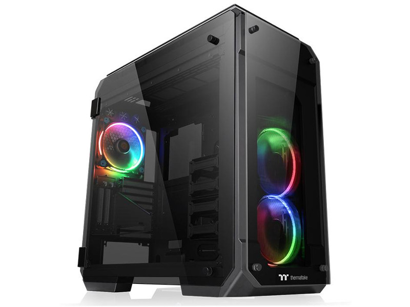 Корпус Thermaltake View 71 Tempered Glass RGB Black CA-1I7-00F1WN-01