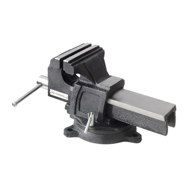 Тиски Forsage F-6540905 инструмент съемник масляного фильтра forsage краб с плоским захватом f 61904a