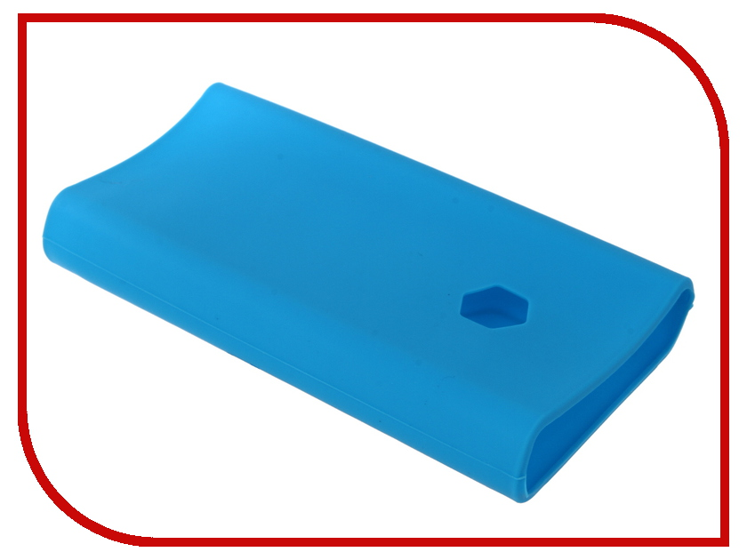 Аксессуар Чехол Xiaomi Silicone Case for Power Bank 2C 20000mAh Blue аккумулятор xiaomi zmi power bank aura qb821 20000mah white