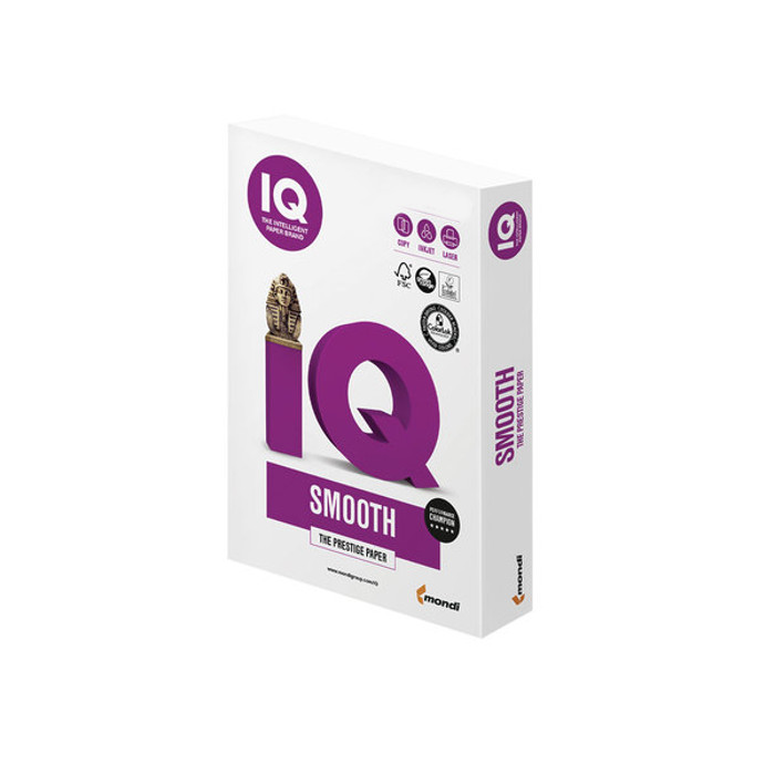 Бумага IQ Selection Smooth А4 90g/m2 500л A+ 110739