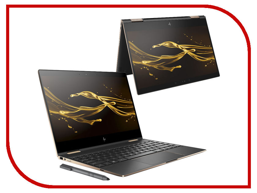 Ноутбук HP Spectre x360 13-ae007ur 2VZ67EA (Intel Core i5-8250U 1.6 GHz/8192Mb/256Gb SSD/No ODD/Intel HD Graphics/Wi-Fi/Bluetooth/Cam/13.3/1920x1080/Touchscreen/Windows 10 64-bit) ноутбук dell xps 13 9365 4429 intel core i5 7y54 1 2 ghz 8192mb 256gb ssd no odd intel hd graphics wi fi bluetooth cam 13 3 3200x1800 touchscreen windows 10 64 bit