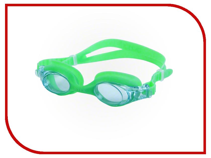 Очки Intex C55693 Green кровать comfort plush 152х203х56см со встроенным насосом 220в intex 64418