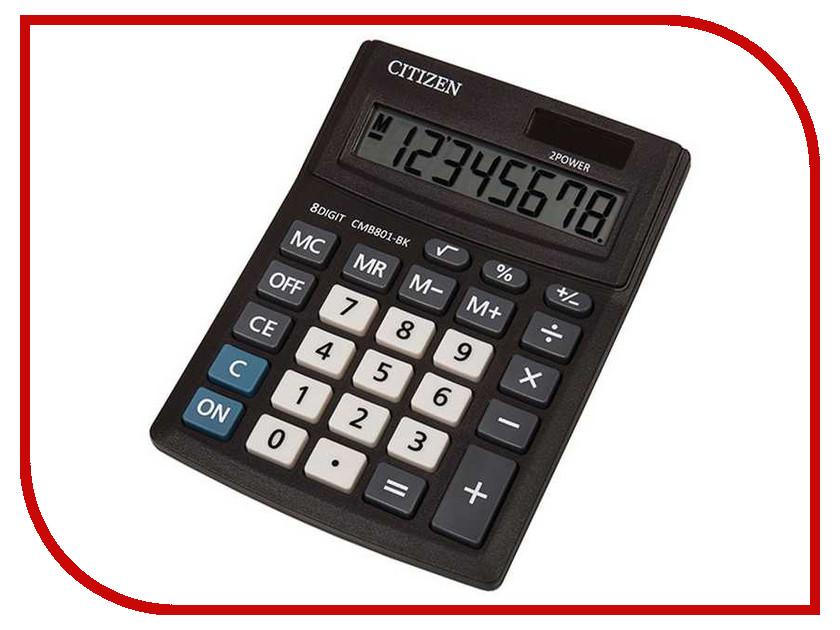 Калькулятор Citizen Business Line CMB801-BK Black - двойное питание citizen ca4250 03e