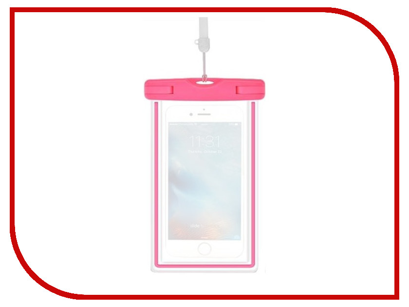 Чехол Devia Ranger Fluorescence Waterproof Bag Pink чехол devia ranger fluorescence waterproof bag pink