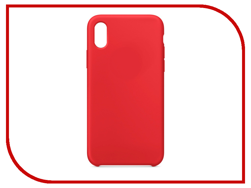 Аксессуар Чехол APPLE iPhone X Silicone Case Red MQT52ZM/A mesh style protective back case for htc one x s720e deep pink