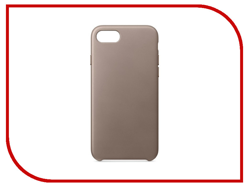 Аксессуар Чехол APPLE iPhone 7/8 Leather Case Taupe MQH62ZM/A marina creazioni b3588 00337 per0760 pegaso bianco st 337 taupe a avorio taupe nk