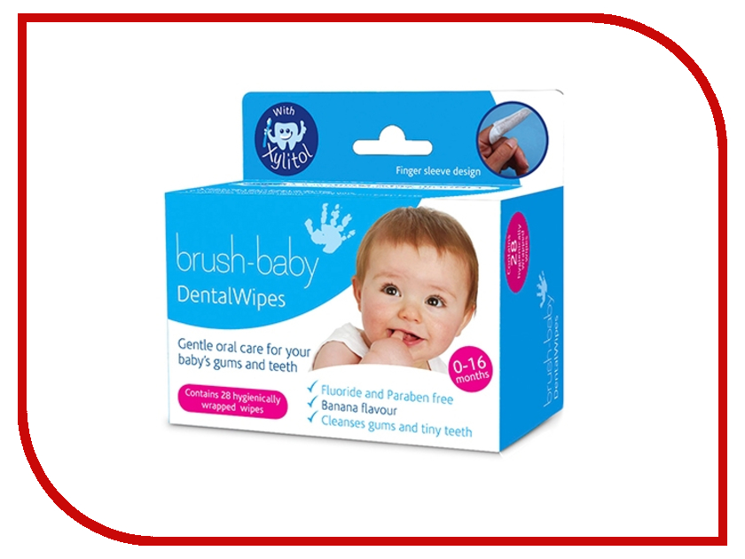 Салфетки Brush-baby Dental Wipes BRB042 салфетки pupa sport addicted deodorant wipes ready to go freshness 15 шт