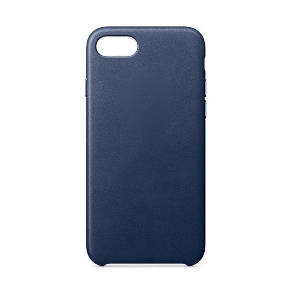 Аксессуар Чехол APPLE iPhone 7/8 Leather Case Midnight Blue MQH82ZM/A цена