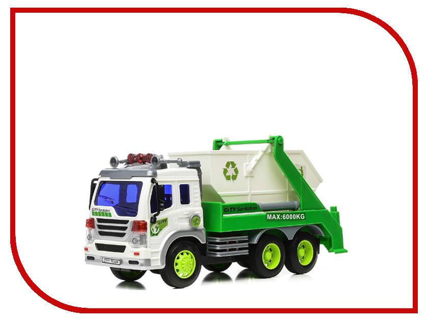 Игрушка Drift Грузовик-контейнерный мусоровоз 29622 drift машина фрикционная