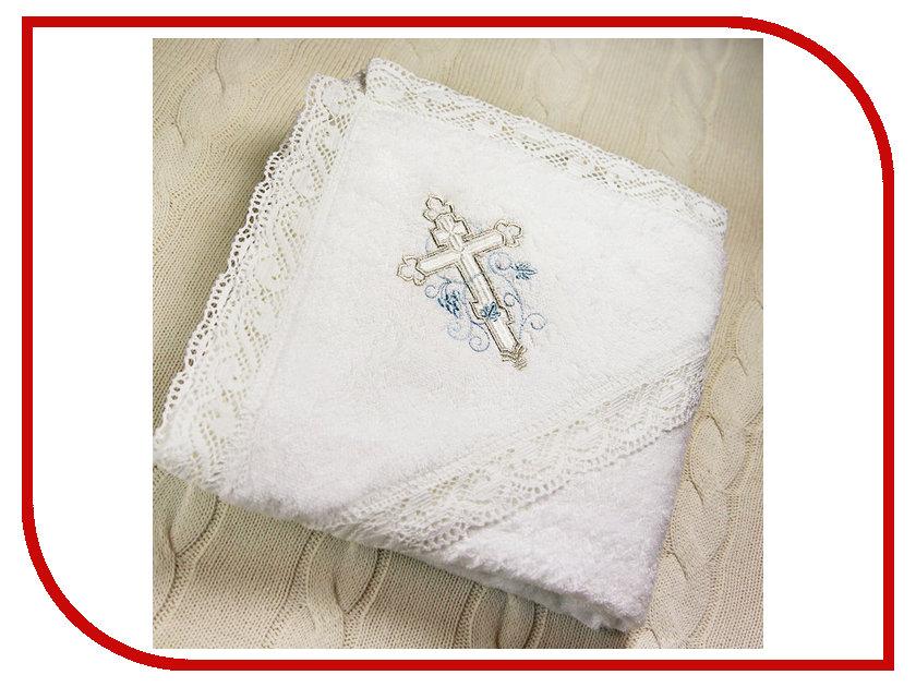Krestilnoe Кружевное полотенце с капюшоном Иван КПЛ-М02-ОМ
