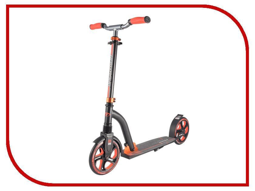 Самокат Tech Team Downtown Black-Orange tech team шлем plasma 500 размер m tech team