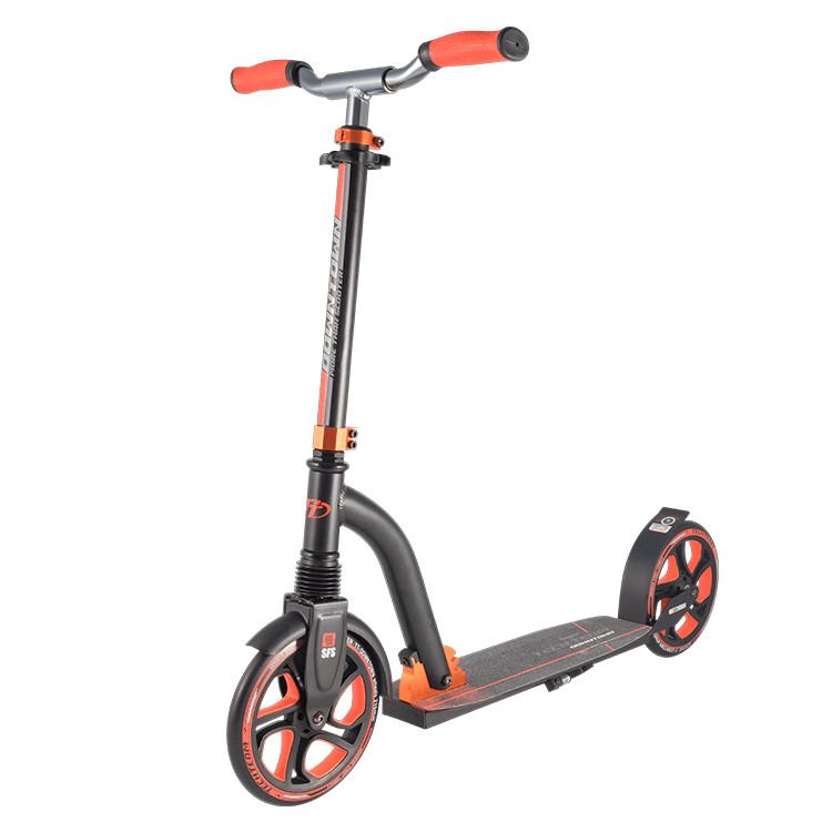 Самокат Tech Team Downtown 2018 Black-Orange недорго, оригинальная цена