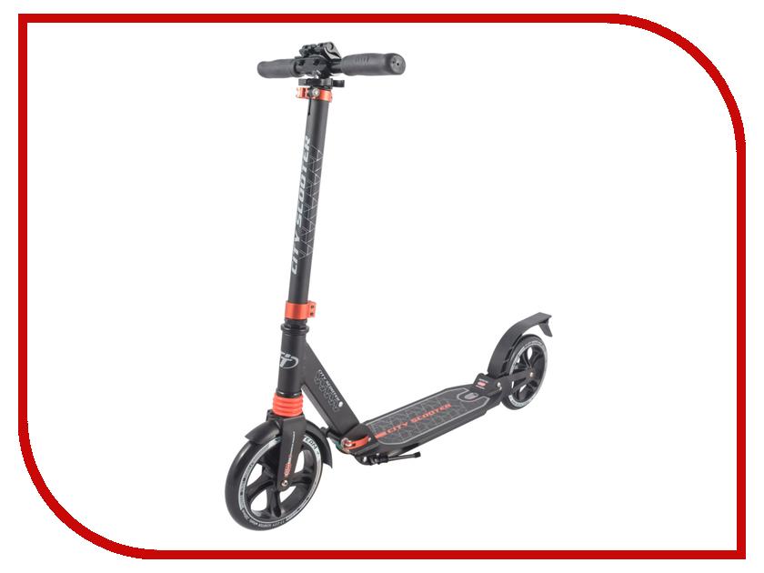 Самокат Tech Team City Scooter Black-Orange