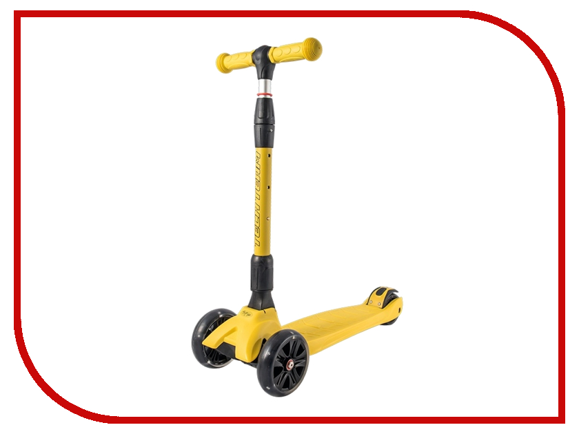Самокат Tech Team Tiger Plus Yellow