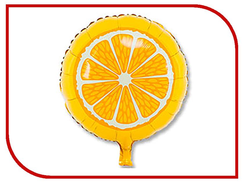 Шар фольгированный Веселая затея 18-inch Апельсин 2811253