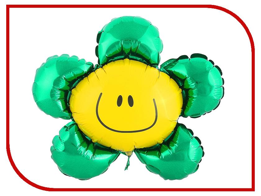 Шар фольгированный Flexmetal Цветок 12-inch Green 1230058 12 1 inch tx31d27vc1cab lcd screen