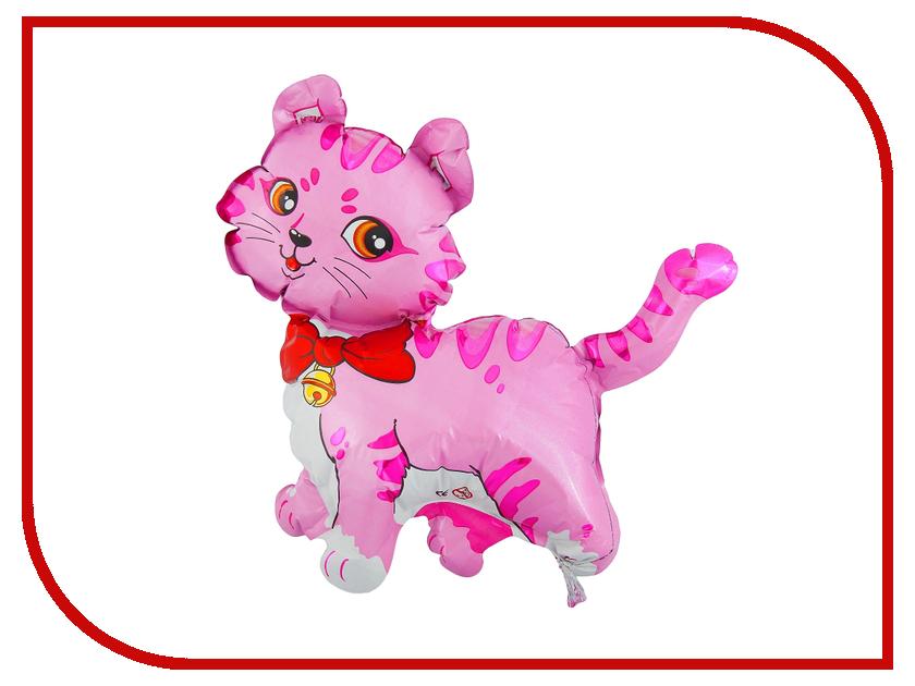 Шар фольгированный Flexmetal Кошечка с бантом 12-inch Pink 1230009 12 1 inch tx31d27vc1cab lcd screen