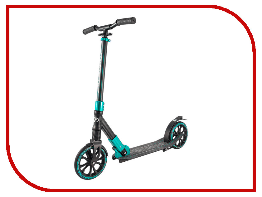 Самокат Tech Team TT 210 Sport Black-Light Blue самокат tech team 145 jogger black light blue
