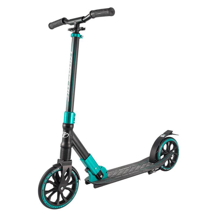 Самокат Tech Team TT 210 Sport 2019 Black-Light Blue цена