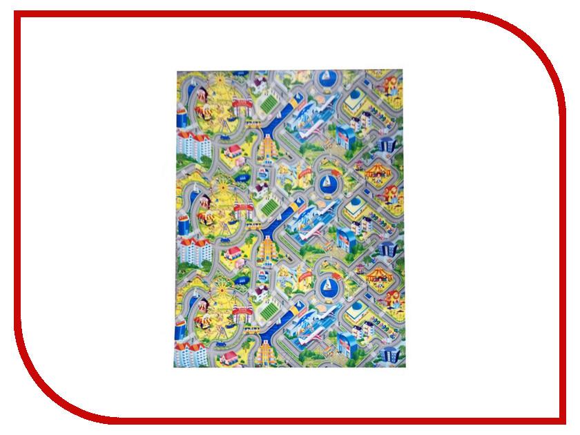 Развивающий коврик Yurim Город 200x150x1cm 610103 коврик yurim 180x60x1 2cm 7122д