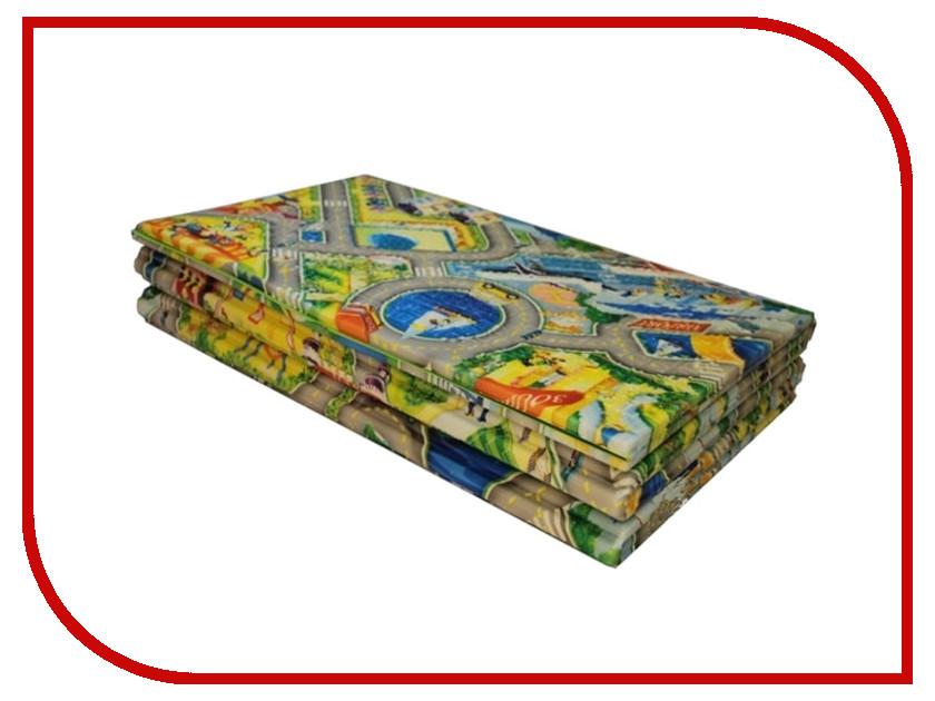 Развивающий коврик Yurim Город 150x63x0.5cm 605101 коврик yurim 180x60x1 2cm 7122д