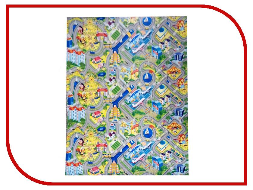 Развивающий коврик Yurim Город 200x150x0.5cm 605103 коврик yurim 180x60x1 2cm 7122д