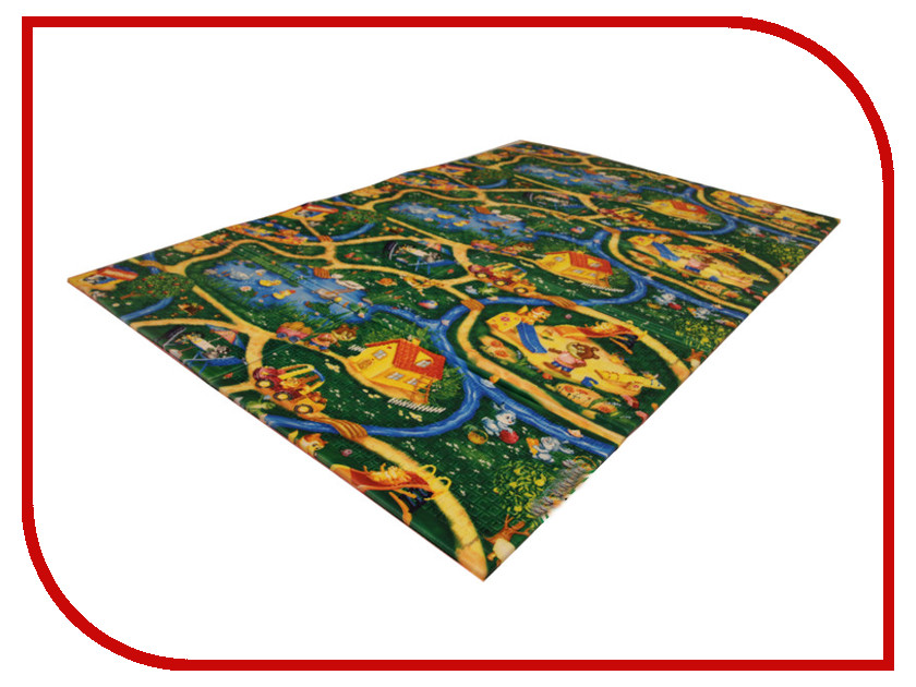 Развивающий коврик Yurim Дороги 150x100x1cm 610012 коврик yurim 180x60x1 2cm 7122д