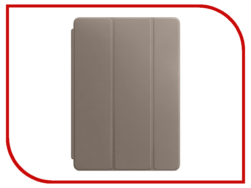 Аксессуар Чехол APPLE iPad Pro 10.5 Leather Smart Cover Taupe MPU82ZM/A new 360 rotating pu leather litchi case cover for apple ipad pro 12 9 inch smart auto sleep wake stand holder