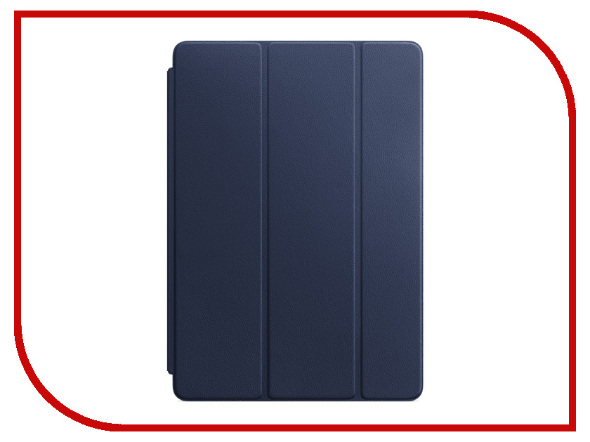 Аксессуар Чехол APPLE iPad Pro 10.5 Leather Smart Cover Midnight Blue MPUA2ZM/A цена