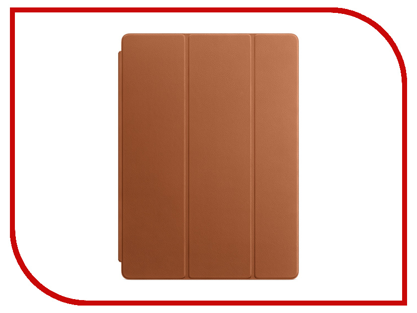Аксессуар Чехол APPLE iPad Pro 12.9 Leather Smart Cover Saddle Brown MPV12ZM/A new 360 rotating pu leather litchi case cover for apple ipad pro 12 9 inch smart auto sleep wake stand holder