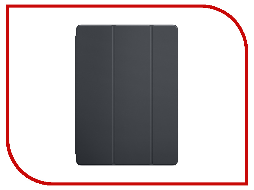 Аксессуар Чехол APPLE iPad Pro 12.9 Smart Cover Charcoal Gray MQ0G2ZM/A аксессуар чехол apple ipad pro 12 9 smart folio white mrxe2zm a