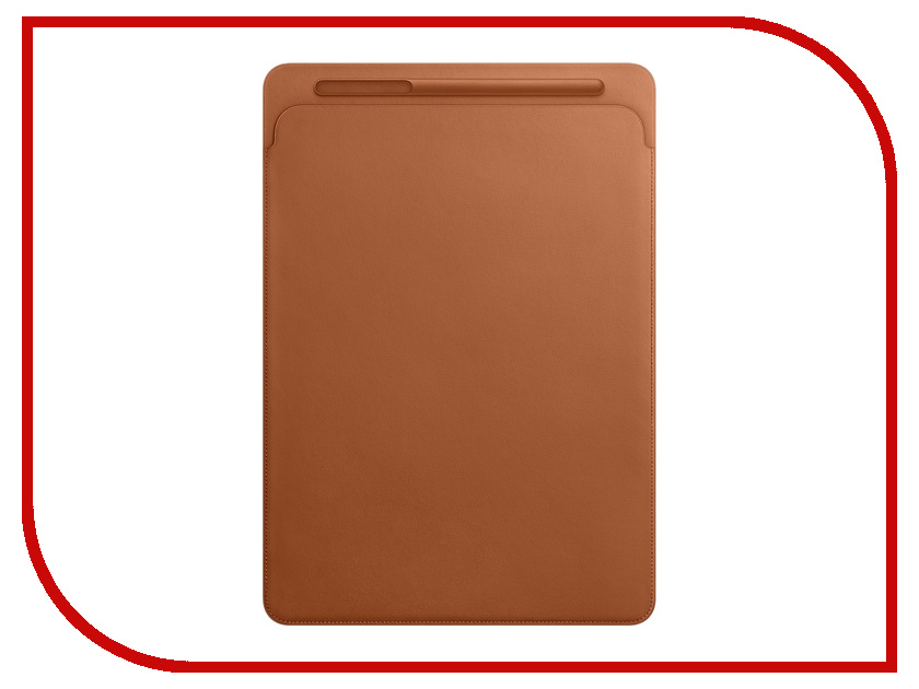 Аксессуар Чехол APPLE iPad Pro 12.9 Leather Sleeve Saddle Brown MQ0Q2ZM/A 100% genuine leather 2sizes black brown women backpack fashion designer 2017 causal bag large