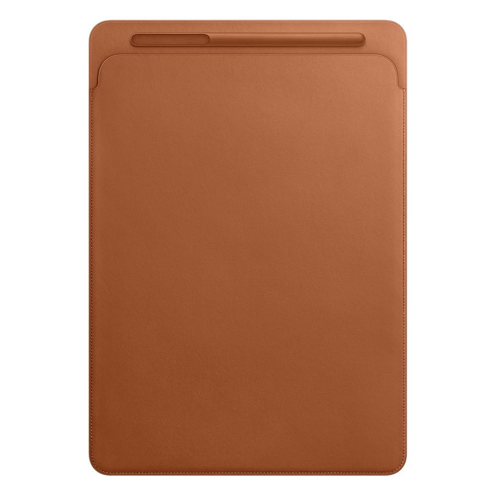 Аксессуар Чехол для APPLE iPad Pro 12.9 Leather Sleeve Saddle Brown MQ0Q2ZM/A аксессуар чехол apple ipad pro 12 9 leather sleeve midnight blue mq0t2zm a