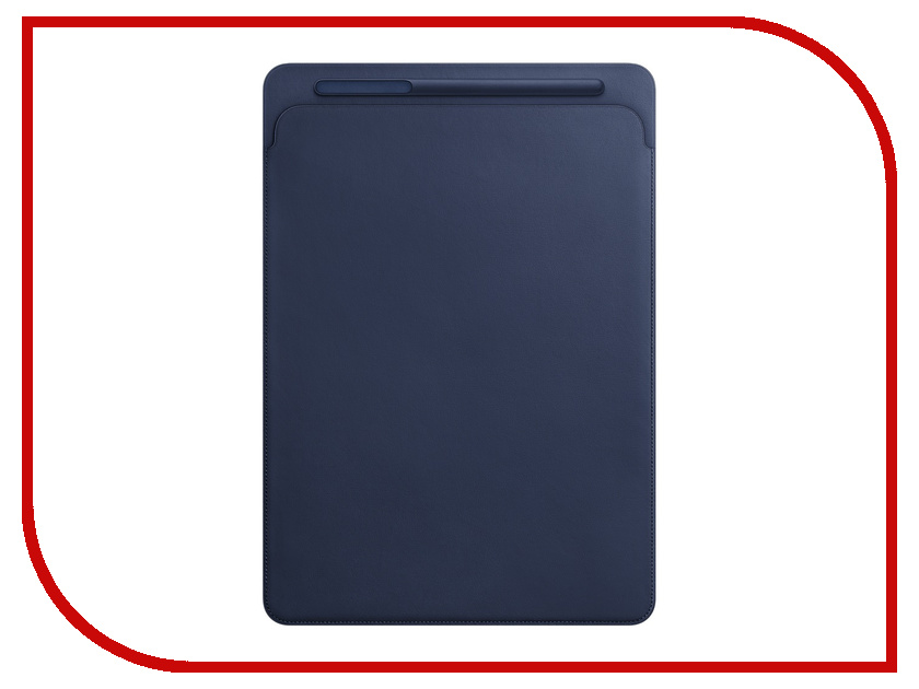 Аксессуар Чехол APPLE iPad Pro 12.9 Leather Sleeve Midnight Blue MQ0T2ZM/A basketball pattern protective pu leather for ipad mini blue