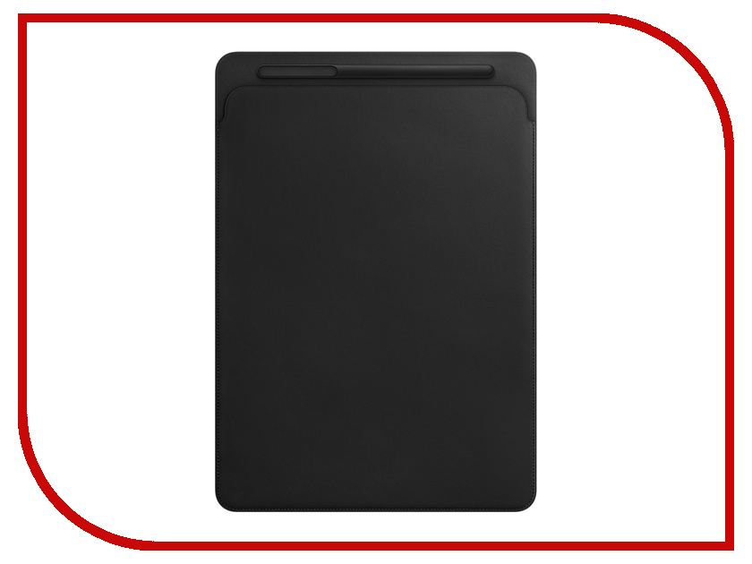 Аксессуар Чехол APPLE iPad Pro 12.9 Leather Sleeve Black MQ0U2ZM/A